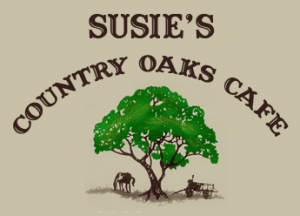 Susie's Country Oaks Cafe logo